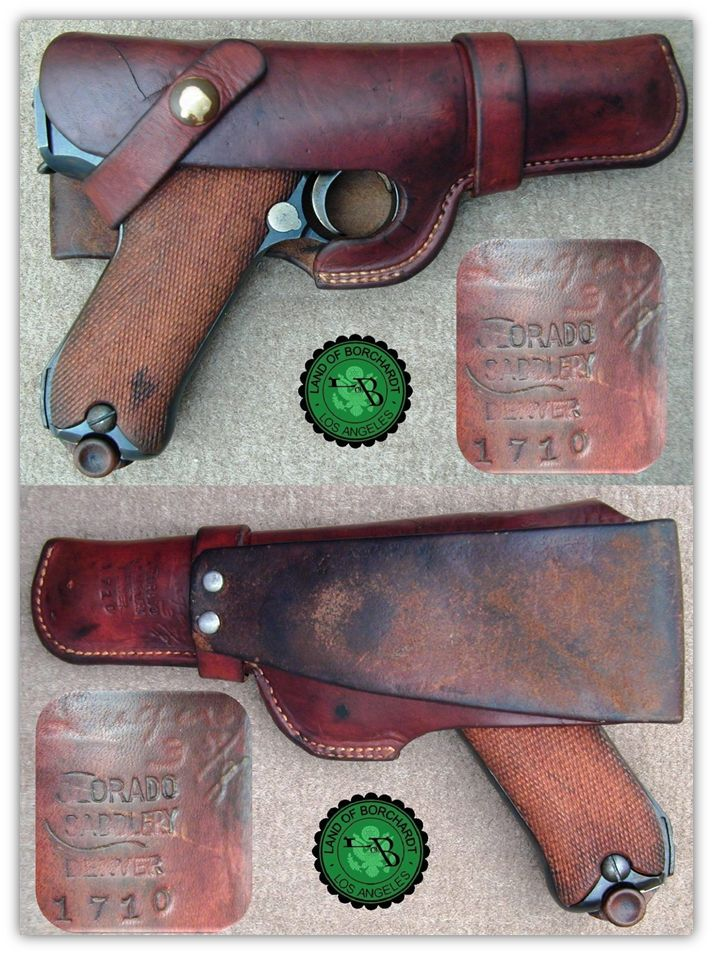 American Commercial Luger Holsters: Colorado Saddlery