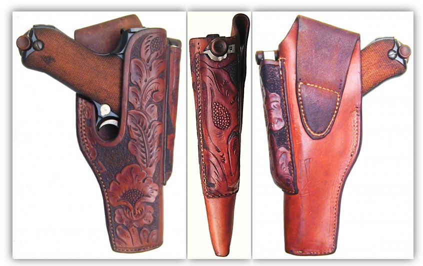 American Commercial Luger Holsters: Unknown maker