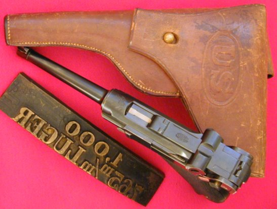 Early Old Model Commercial Production American Eagle Lugers
